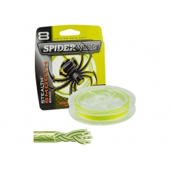 Plecionka SpiderWire Stealth Smooth 8 Yellow 0,08mm-7,3kg (150m)